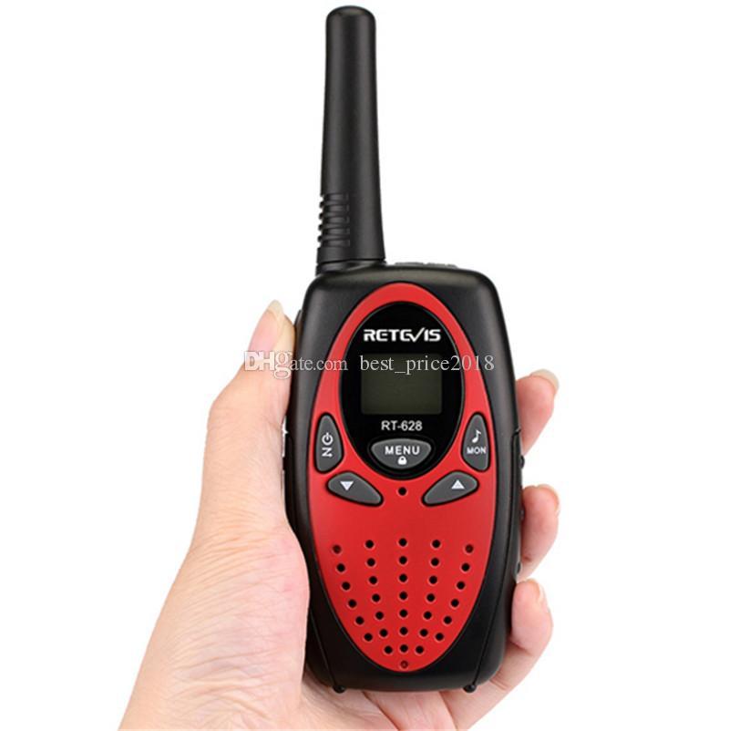 Retevis RT628 Mini Crianças Walkie Talkie Rádio 0.5 W VOX PTT LCD PMR Freqüência Portátil Ham Radio Hf Transceptor Melhor