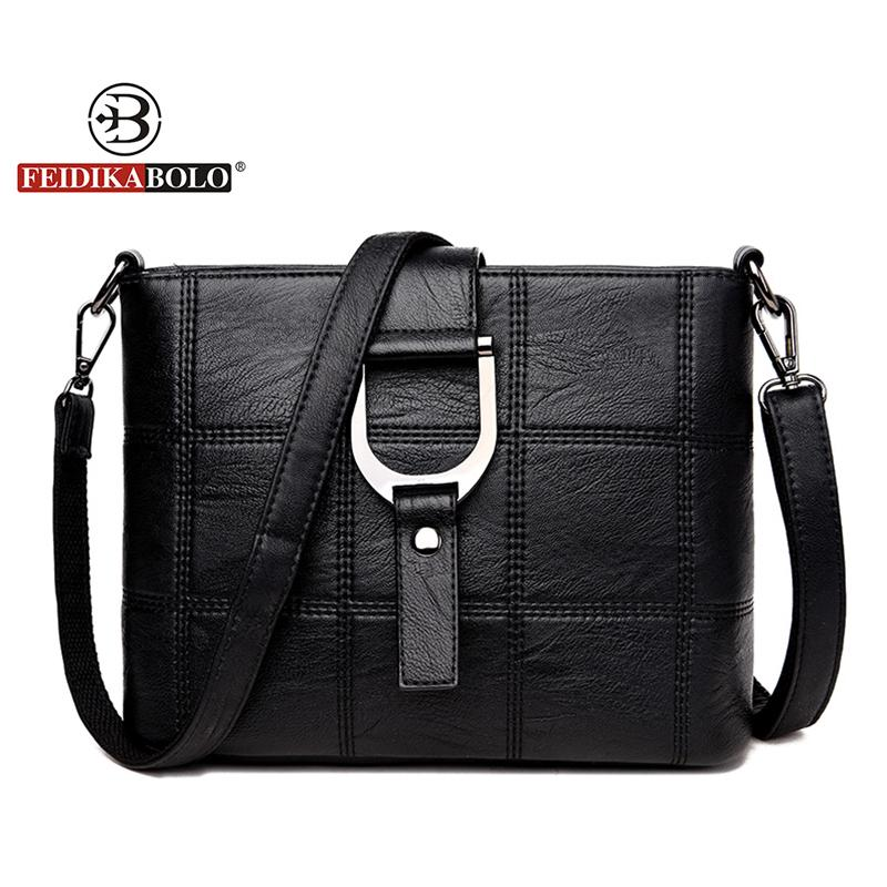 Brand Crossbody Bags For Women Patchwork Shoulder Bag Women Small Plaid Messenger Bag Fashion Designer Handbags High Quality New