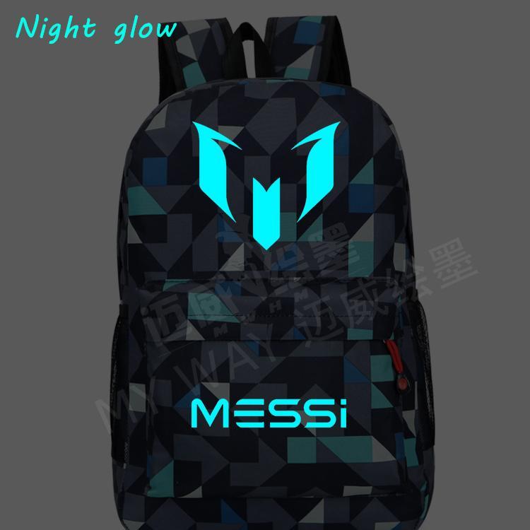 ce3f77cbed1b NEW HOT-sale Logo Messi Backpack Bag Men Travel Shoulder Bag Gift ...