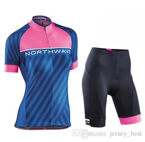 186e2b559 2018 Women Summer Cycling Jersey Short Sleeve Set Breathable Shorts Clothes  Quick Dry Bike Wear Clothing Online with  36.07 Piece on Jersey best s  Store ...