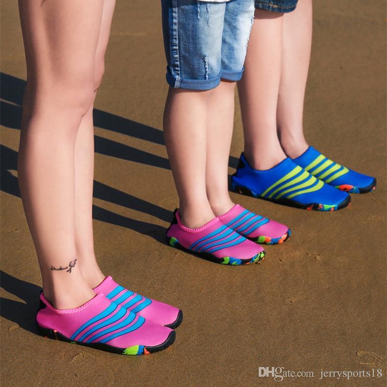 Planos Antideslizante Zapatos Aire Libre Mujeres Suaves Caminando Hombres Playa Aqua De Tamaño 27 Nadar Adultos Al Para Pareja 46 Y7g6fby