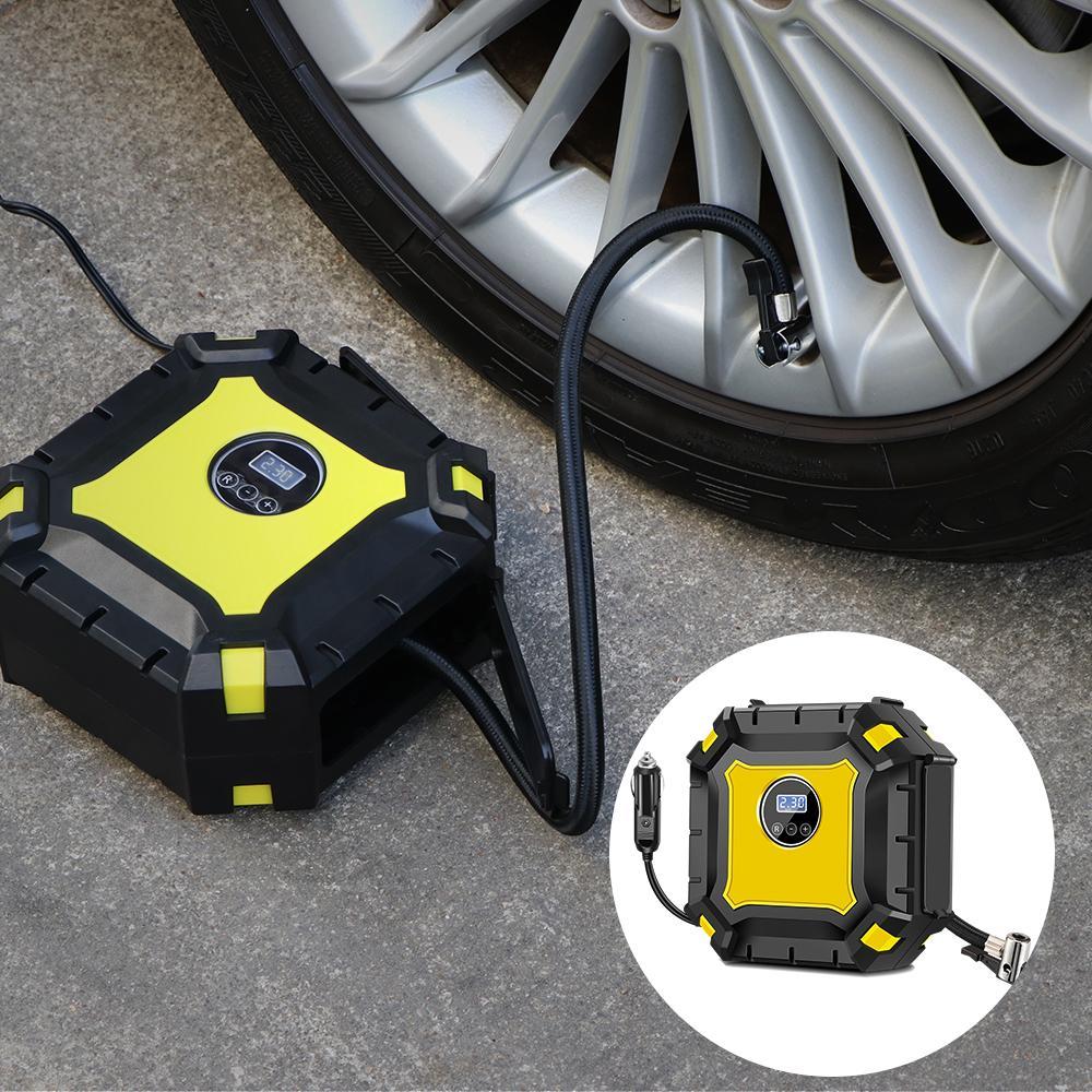 Niedrigerer Preis Mit Tragbare Auto Reifen Aufblasbare Mini Pumpe Zylinder Auto Kompressor Dc 12 V 150psi Druck Pumpe Kits Für Auto Notfall Sanitär Pumpen