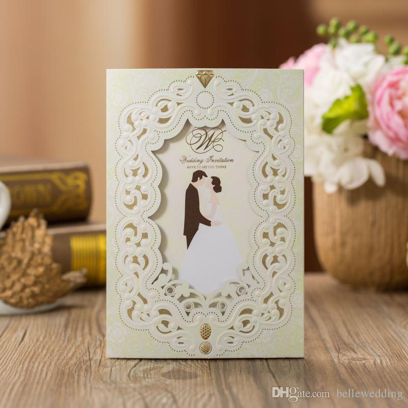Printing Your Own Wedding Invitations: Laser Cut Wedding Invitations Free Printing Wedding