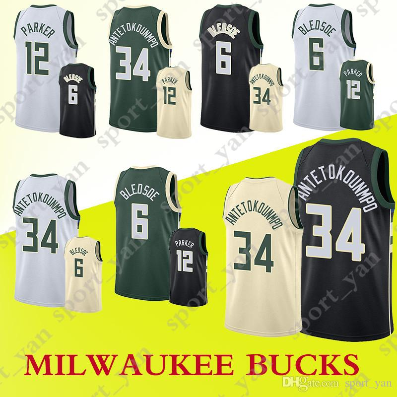 1d0dae6ddae ... swingman jersey 4ae4f 1245b; where to buy men milwaukee bucks jerseys  34 giannis antetokounmpo 6 eric bledsoe 12 embroidery top