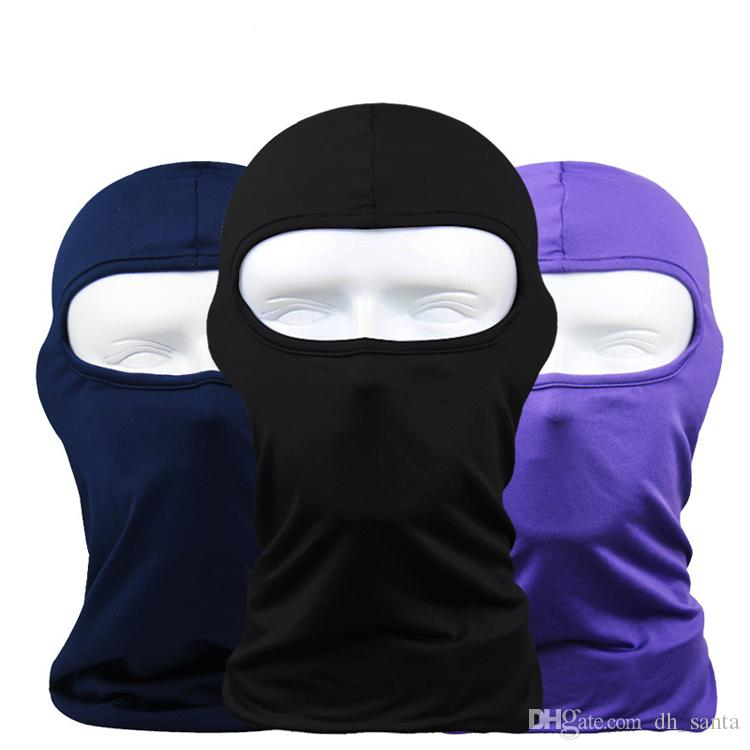 Face Mask AAAA+Quality Bandanas Ghosts Mask Outdoor Hat Cycling Bike Motorcycle Windproof Mask Elastic DHL Fast shipping BF