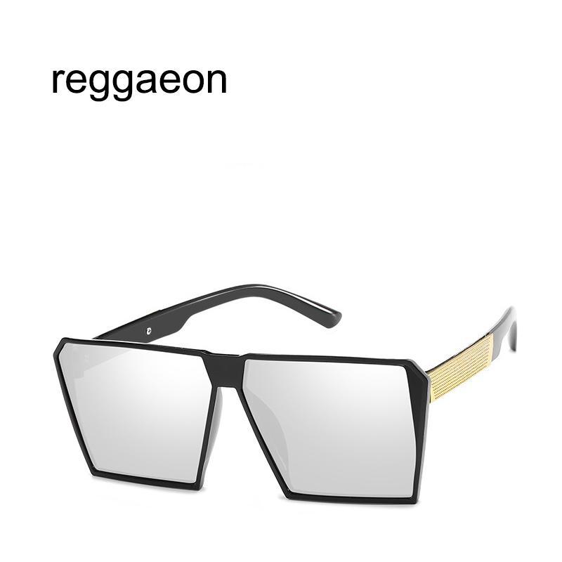 Compre 2018 Feminino Marca De Luxo Design Super Tamanho Senhoras Óculos De  Sol Quadrados Masculino Gradiente Lens Óculos De Sol Grande Quadro Oculos De  ... d6026744ac