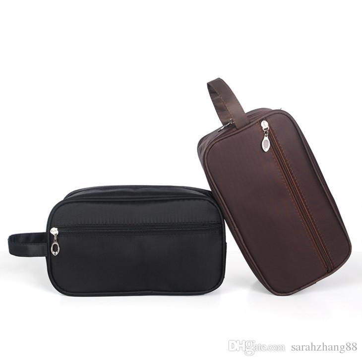 1b6d91568d 2019 Men S Travel Toiletry Organizer Bag Canvas Shaving Kit Mini Storage  Nylon Bag Cosmetic Bag From Sarahzhang88