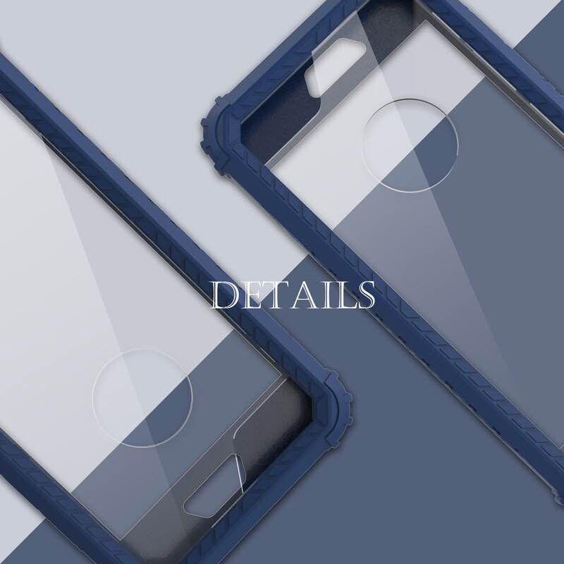 tabula rasa miroir étuis de téléphone antichoc pour iPhone 6 6S 7 Plus X, PC + TPU