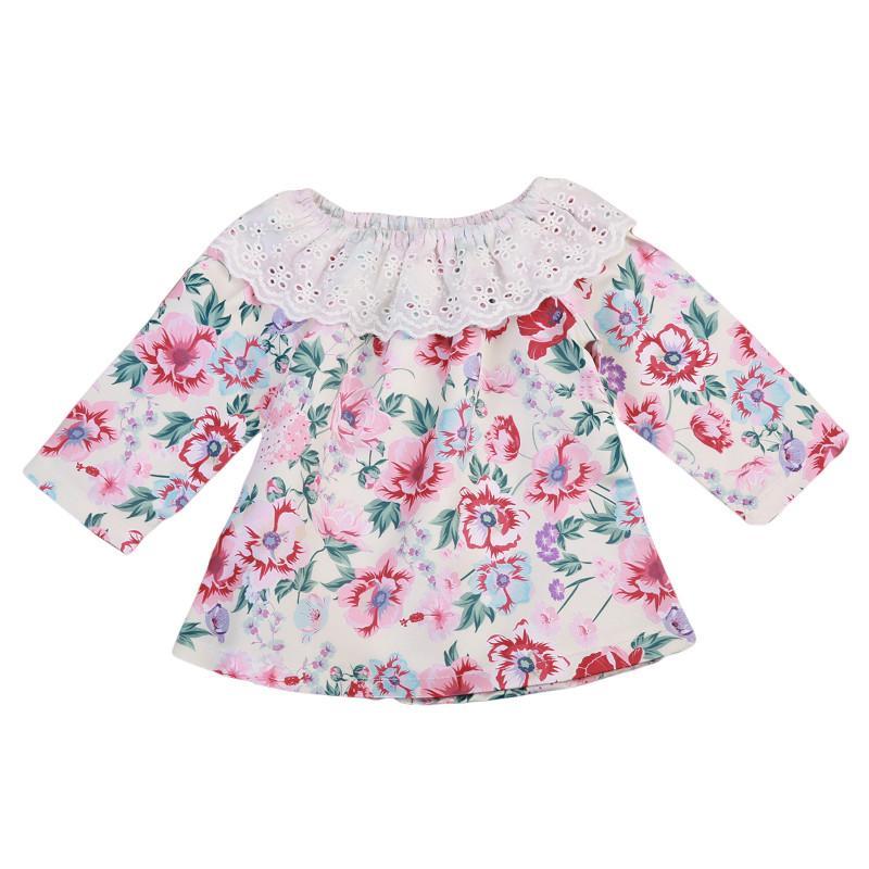 4fbf83ec6 2019 Pudcoco Kids Baby Girls Beautiful Flower Tops Princess Autumn Long  Sleevless Shirts Red Flower Baby Girls Top 0 24M From Bosiju, $23.84 |  DHgate.Com