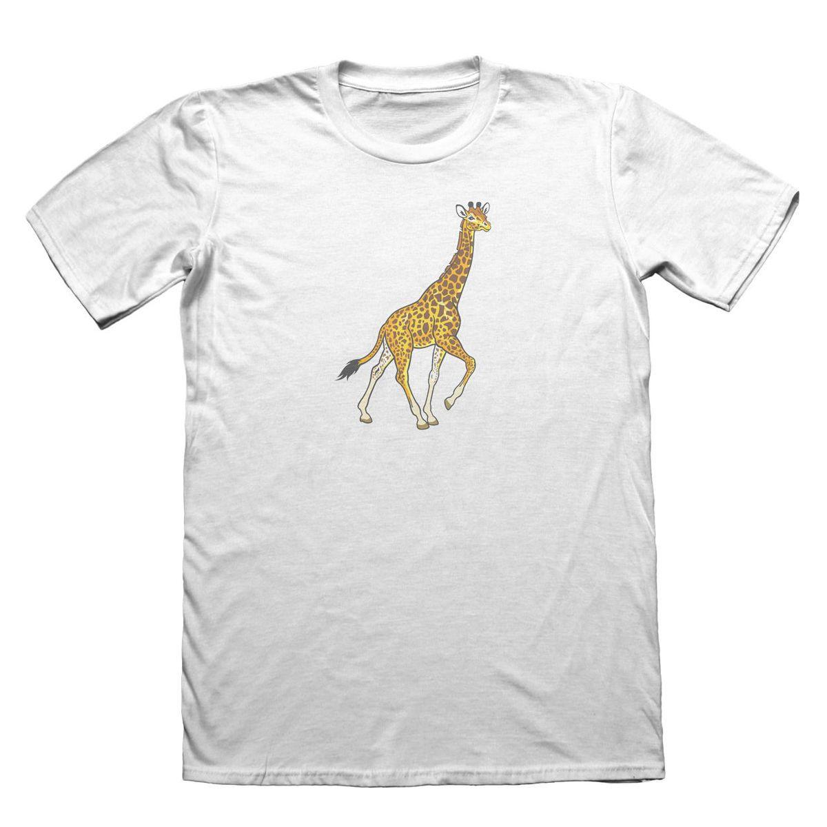 01be4c9a69b Compre Camiseta Jirafa Funny Mens Gift   4431 Camiseta De Ropa Cool Slim  Fit Letra Impresa Camiseta De Manga Corta Funny Print A  16.24 Del  Qz106152964 ...