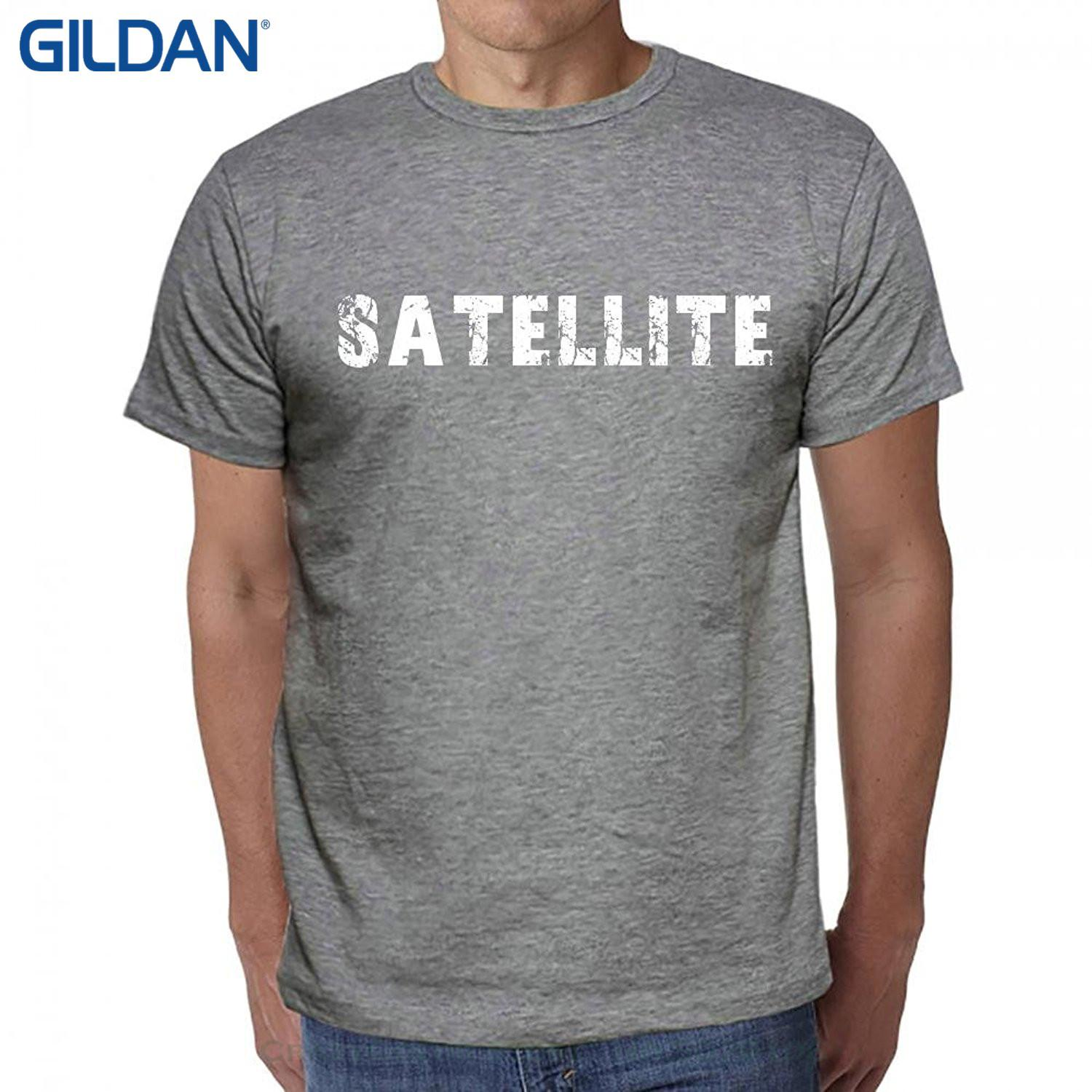 Wholesale Discount T Shirt Design Basic Top Satellite T Shirt With