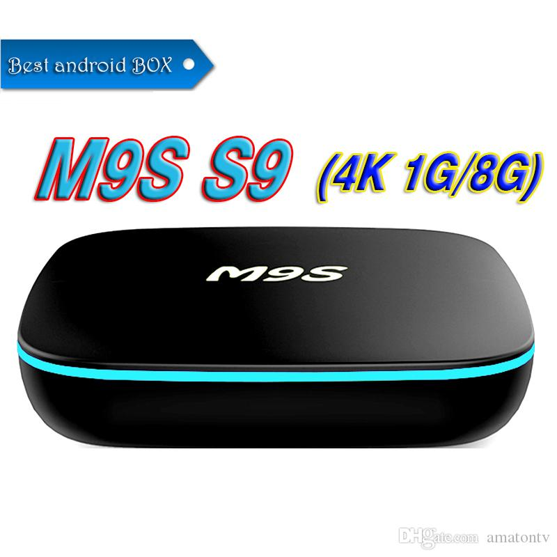 2018 New Hot MX2 M9S S9 RK3229 Quad Core Android 7.1 TV BOX With Customized 3D HDMI 4K Media Player Better TX3 MINI S905W