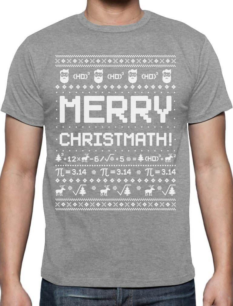 3ee2969b Merry Christmath Funny Math Ugly Christmas Sweater T Shirt Gift Idea  Designer White T Shirt Printed T Shirts Funny From Firstchoicemedia,  $11.01| DHgate.Com