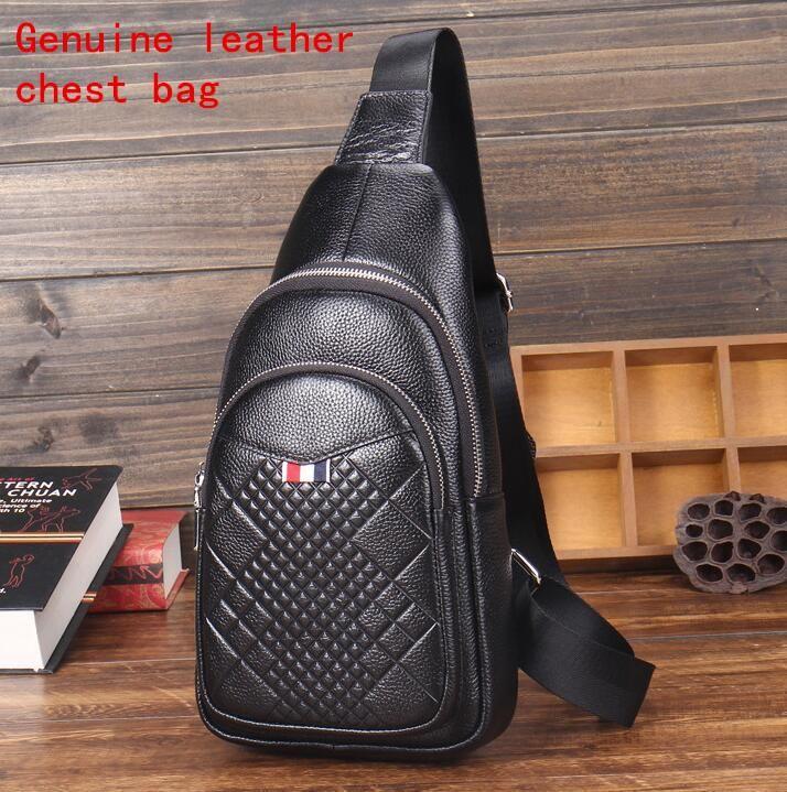 5d9d0689540d Factory Independent Brand Men Business Dermis Men Chest Pack Fashion ...