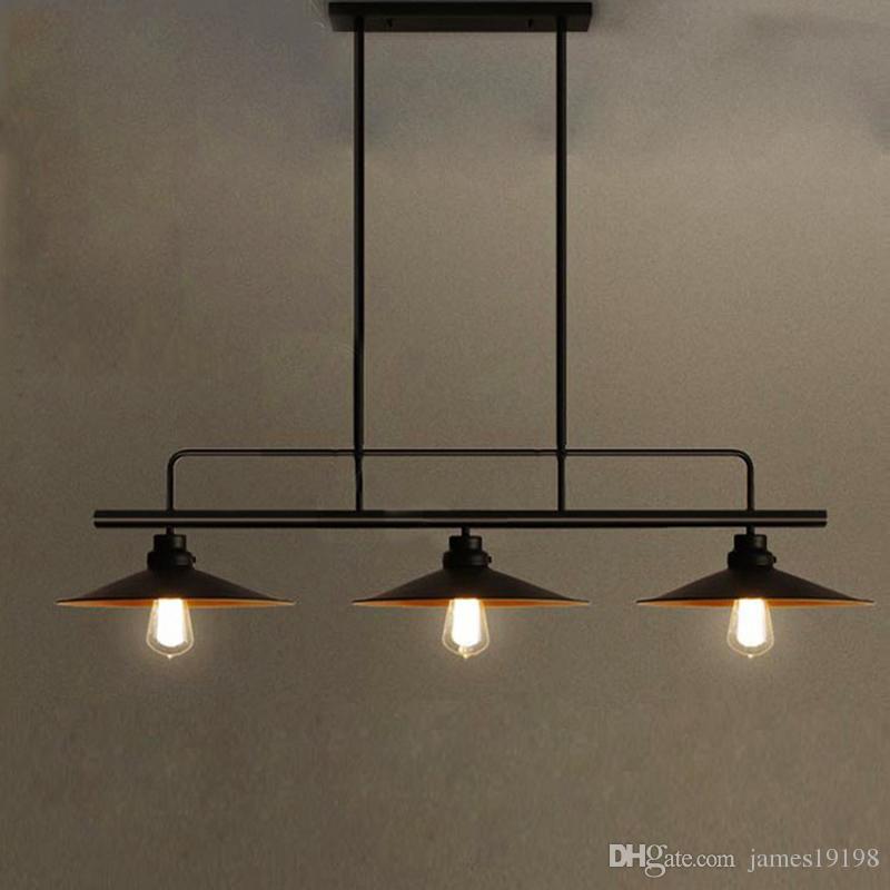 Negras Colgante E27 Salón Habitación 23 Para Colgantes Cabezas El De Loft Lámparas Estudio Suspensión Luces Industriales l1JcFK