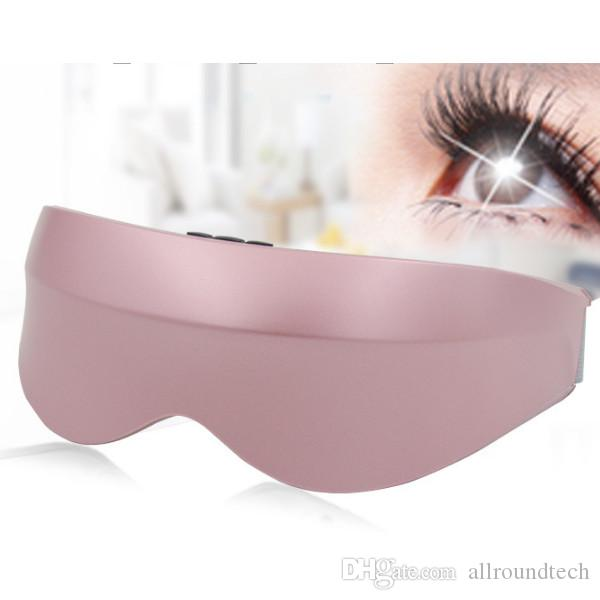 Intelligent Eye Massager Electric Rechargeable Frequency Vibration 9 Functions Eye Relax Massager Glasses Myopia Prevention Magnetic Therapy