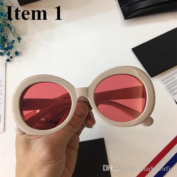 01387b7fb6 Women Men Unisex Retro Round GENTLE Sunglasses Men Classic Candy ...