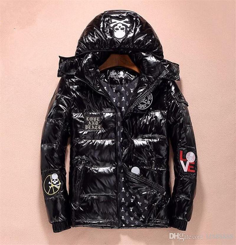 outlet store 754e2 e2854 2018 französische Luxus Designer Herren Daunenjacke Outdoor leichte Jacke,  Herren Daunenjacke s-xxl 8818