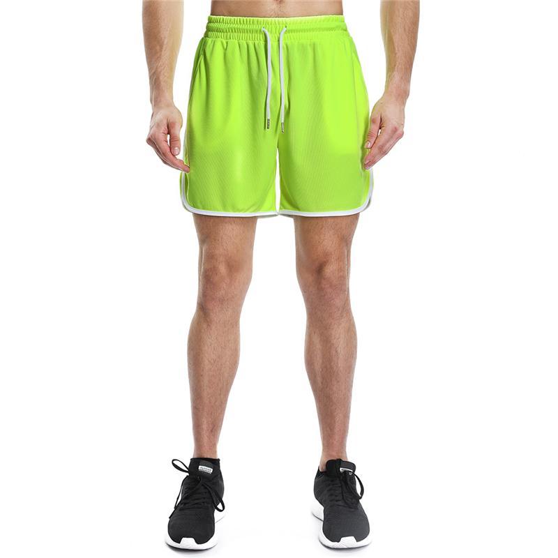 e3d178f605 Compre Mens Gym Shorts Workout Jogging Running Shorts Hombres Gyms  Pantalones Zipper Bolsillo Corto Homme Fitness Athletic Sports Hombre A   26.14 Del Jaokui ...