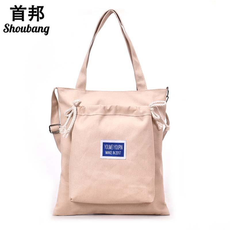 Eco Friendly Portable Canvas Bag Big Bag 2018 Korean Fashion Handbags Wild  Trend Single Shoulder Messenger Hobo Purses Leather Bags For Women From  Redline f818400cd5254