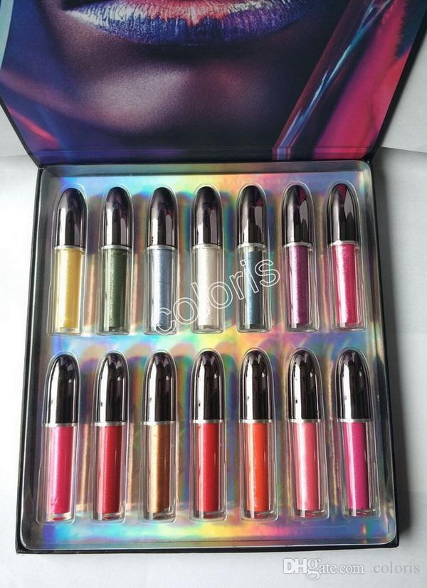 Grand Illusion Liquid LipColour Holographic Shine Metal Liquid LipColour Bright Shimmer Metallic Polarizing Lip Glaze 5ML =
