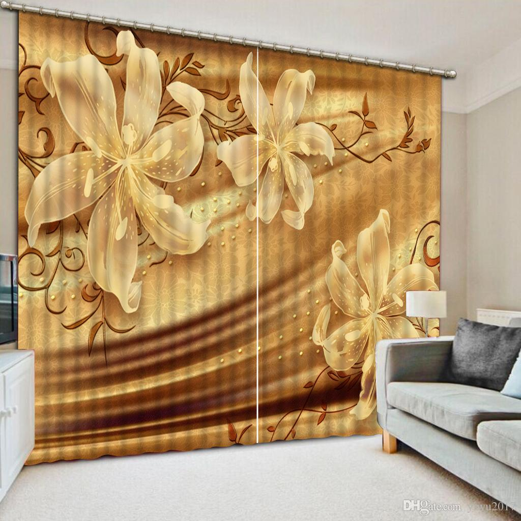 Embossed butterfly flowers Window Curtain Living room Room Hotel Home Wall Decorative Drapes Wall tapestry Blackout Curtain