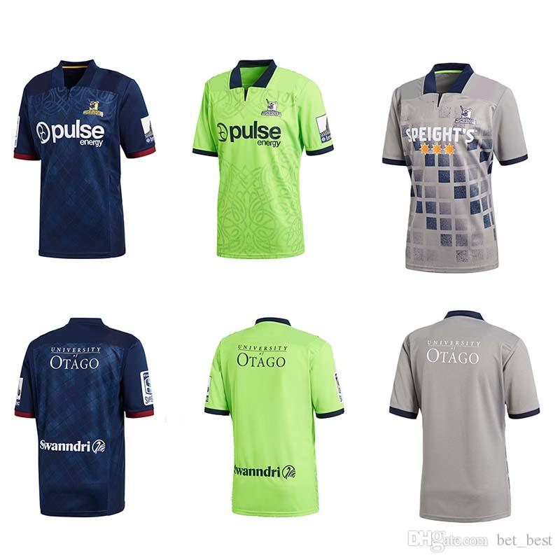 Tops Mens Highlanders Super Rugby Jersey 2018 2019 New Zealand Home ... a2136143f