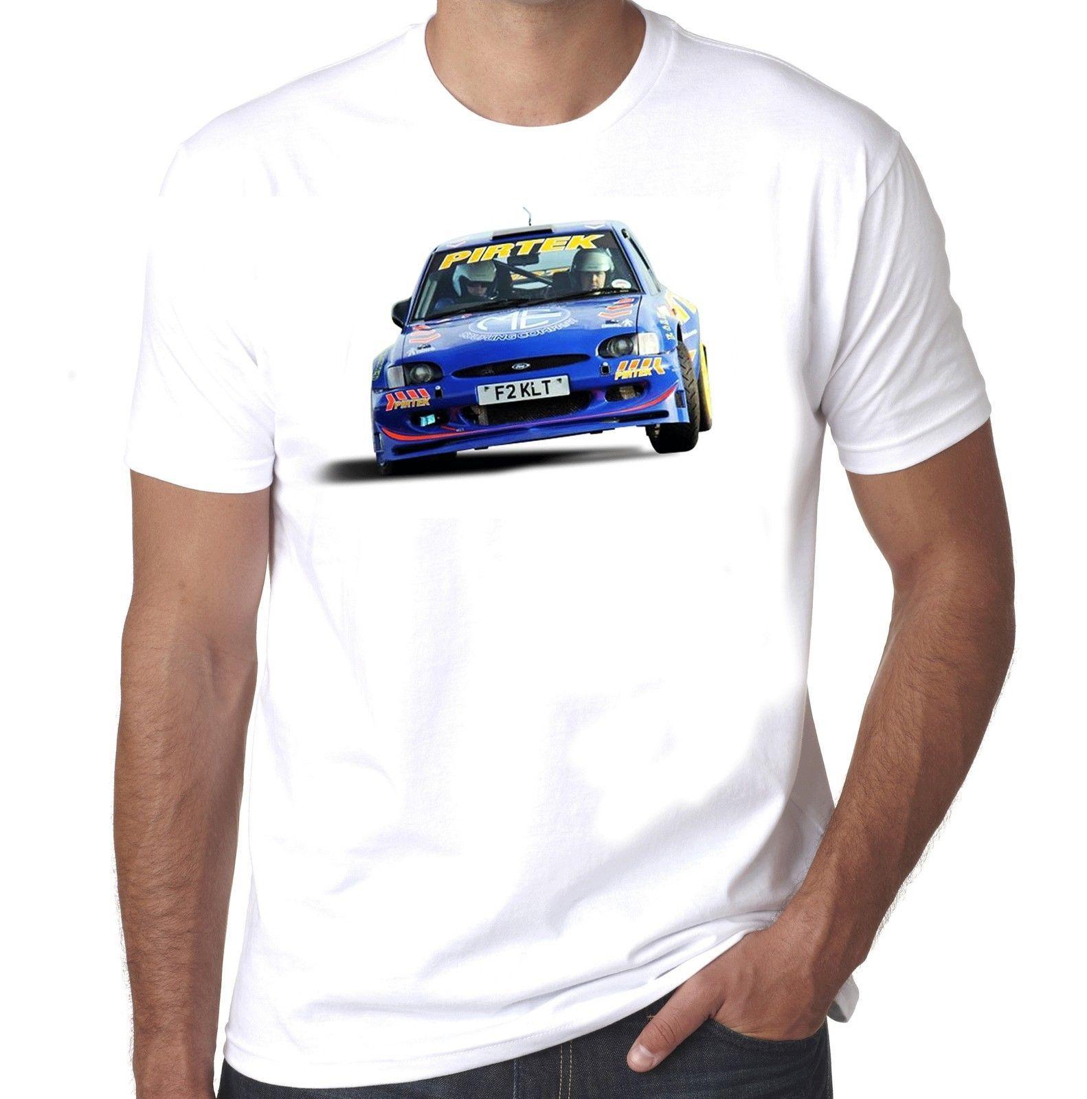 3d496b7bf6 Ford Escort Mk6 Rs2000 F2 Blue Pirtek Maxi Rally No Logo 100% Cotton Tshirt  Cool Casual Pride T Shirt Men Unisex T Shirt Sale Cool Shirt Designs From  ...