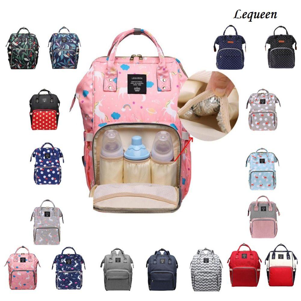 9ff96b47188 2019 Lequeen Nursing Bag Mummy Maternity Nappy Brand Large Capacity Baby Bag  Travel Backpack Designer Nursing For Baby Care From Ferdimand,  30.76    DHgate.