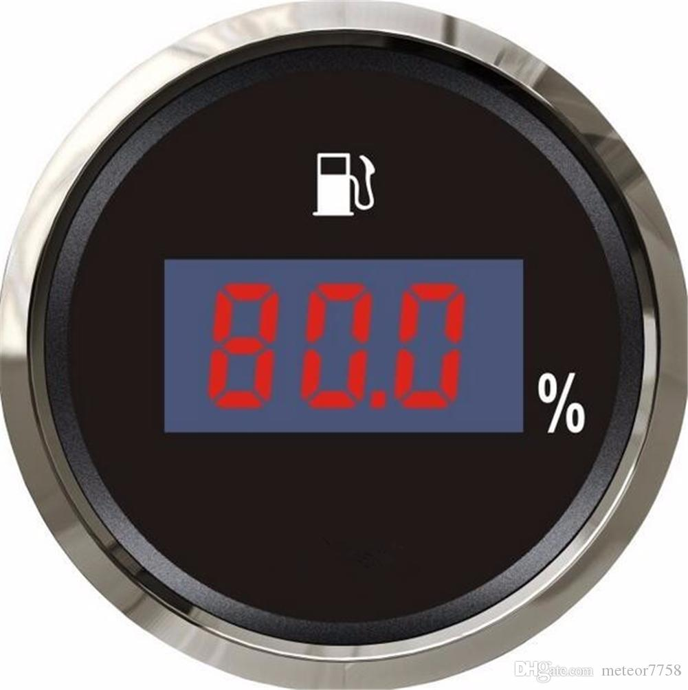100 Brand New Digital Oil Level Meter Fuel Indicators 12v 24v Autogage Tachometer Item Aut233904 The Auto Gage Tach Series Is One Of For Boat Automobile With Light Black Color Gauge