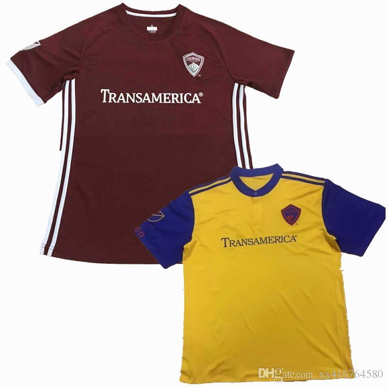 8a1becf90 2019 New 2018 2019 MLS Colorado Jersey FC Rapids DOYLE SERNA HAIRSTON GASHI Soccer  Football Shirts From Xx416764580, $13.2 | DHgate.Com