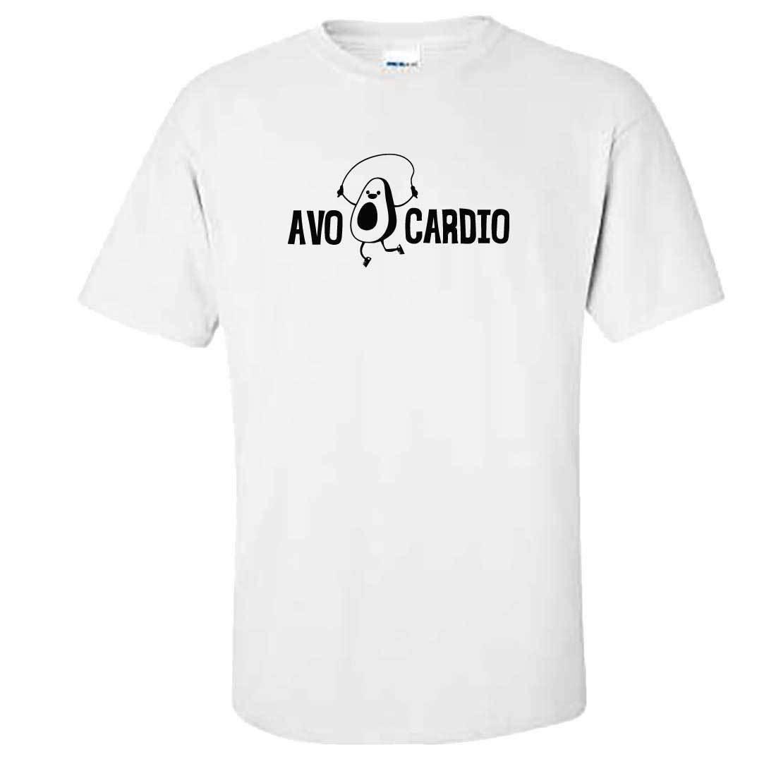 Avo Cardio T Shirt Top Funny Tumblr Avocado Cardio Gym Fitness
