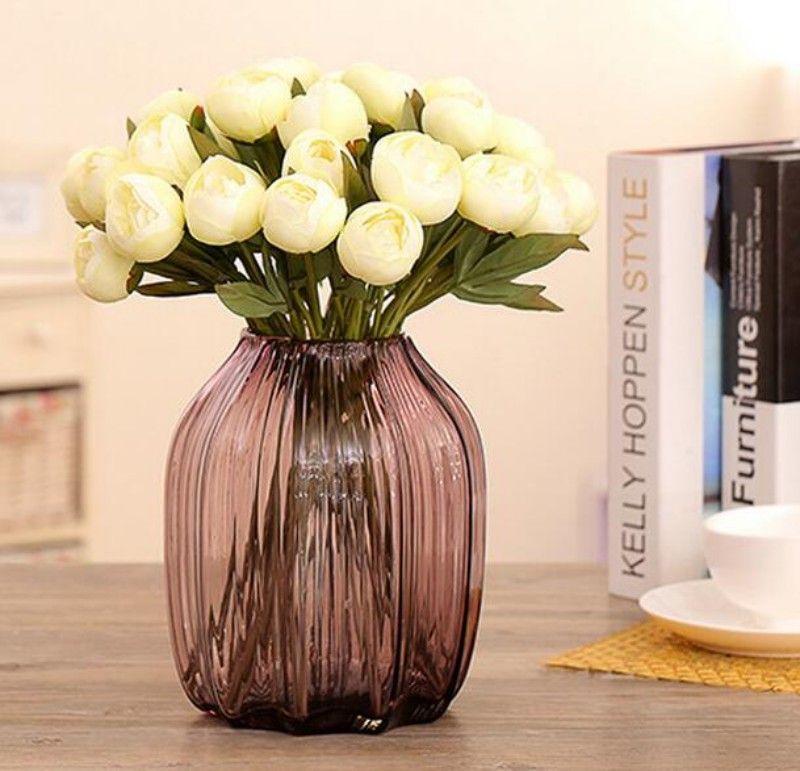 Manuel Inci Şakayık Simülasyon Çiçek Narin El Yapımı Buket Büyük Düğün Festivali Süslemeleri Için Mutluluk Şanslı Çiçekler Hediye 1 8lx Y