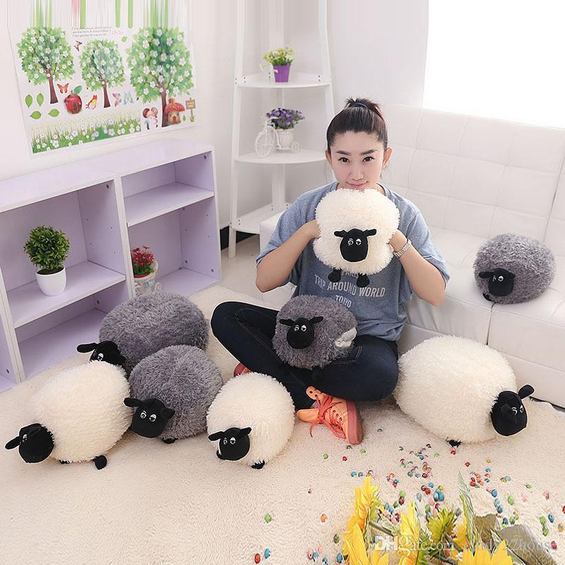 2019 Cute Sheep Soft Cartoon Sheep Lamb Doll Plush Toys ...