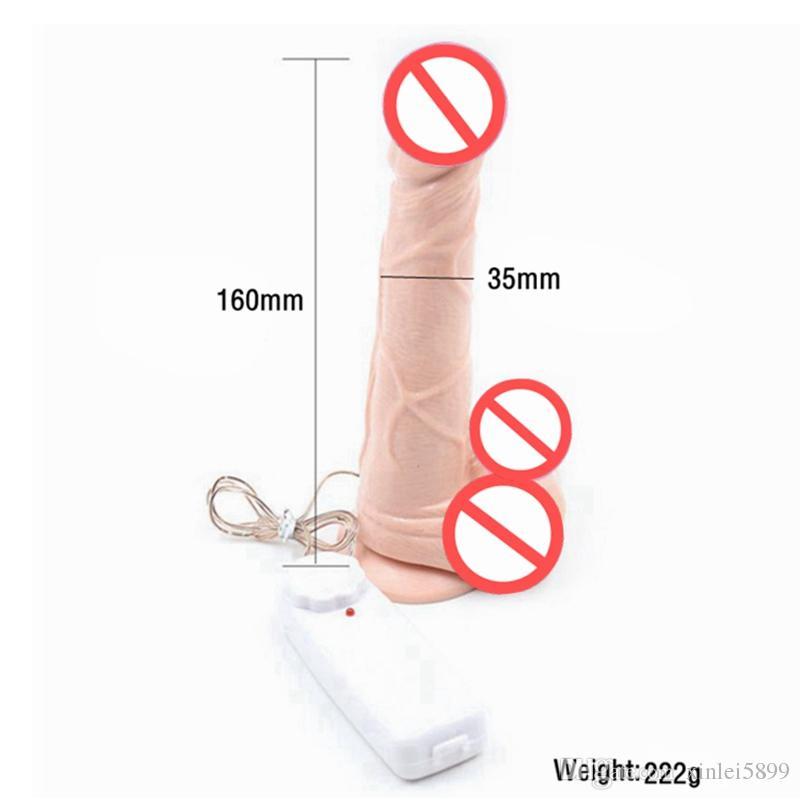 Novo Realista Dildo Vibrador Vibrador Enorme Elétrica das Mulheres Masturbador Adulto Brinquedos Sexuais Para A Mulher Produtos Do Sexo