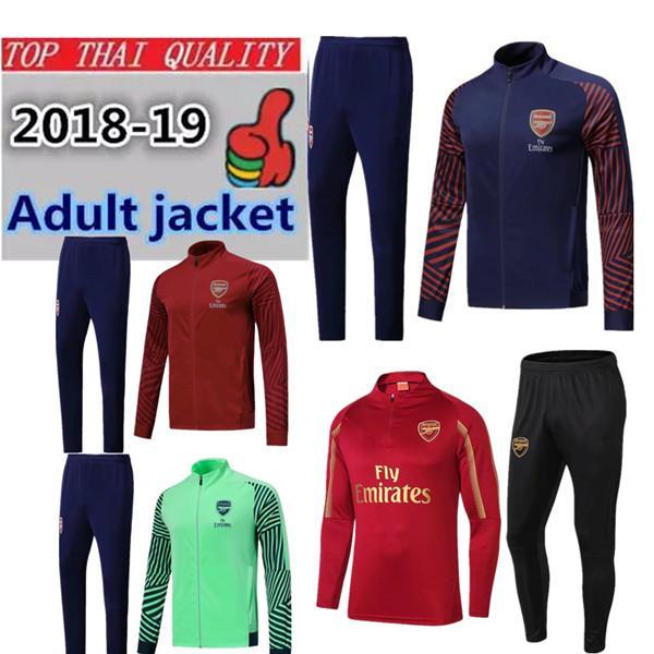 2dbfb2d7f 18 19 ARSENAL OZIL Survetement Gunman Football Jacket Soccer ...