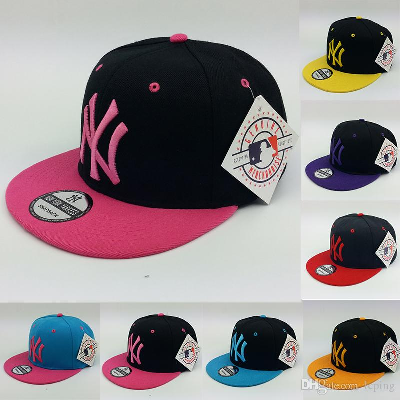 Wholesale Baseball Cap Designer Hat NY Logo Adjustable Snapbacks Hats Men  Hats Women Ball Caps Accept Dad Hat High Quality 47 Brand Hats Vintage  Baseball ... 72b1f256908