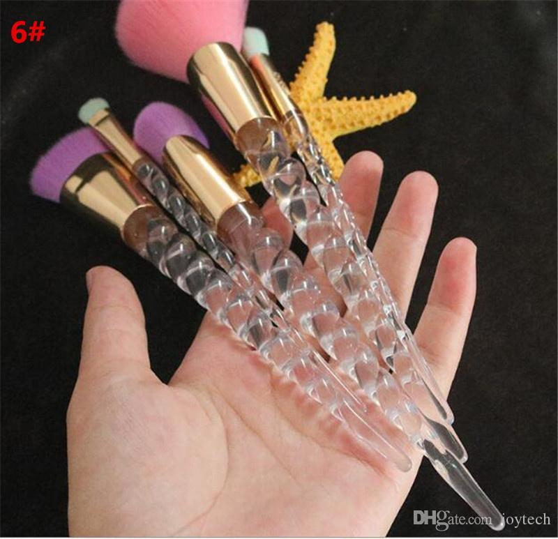 maquillage pinceaux de maquillage Serma favorisé Fondation en forme de poudre à paupières à fard à paupières Contour Contour Pinceau Tool DHL Gratuit