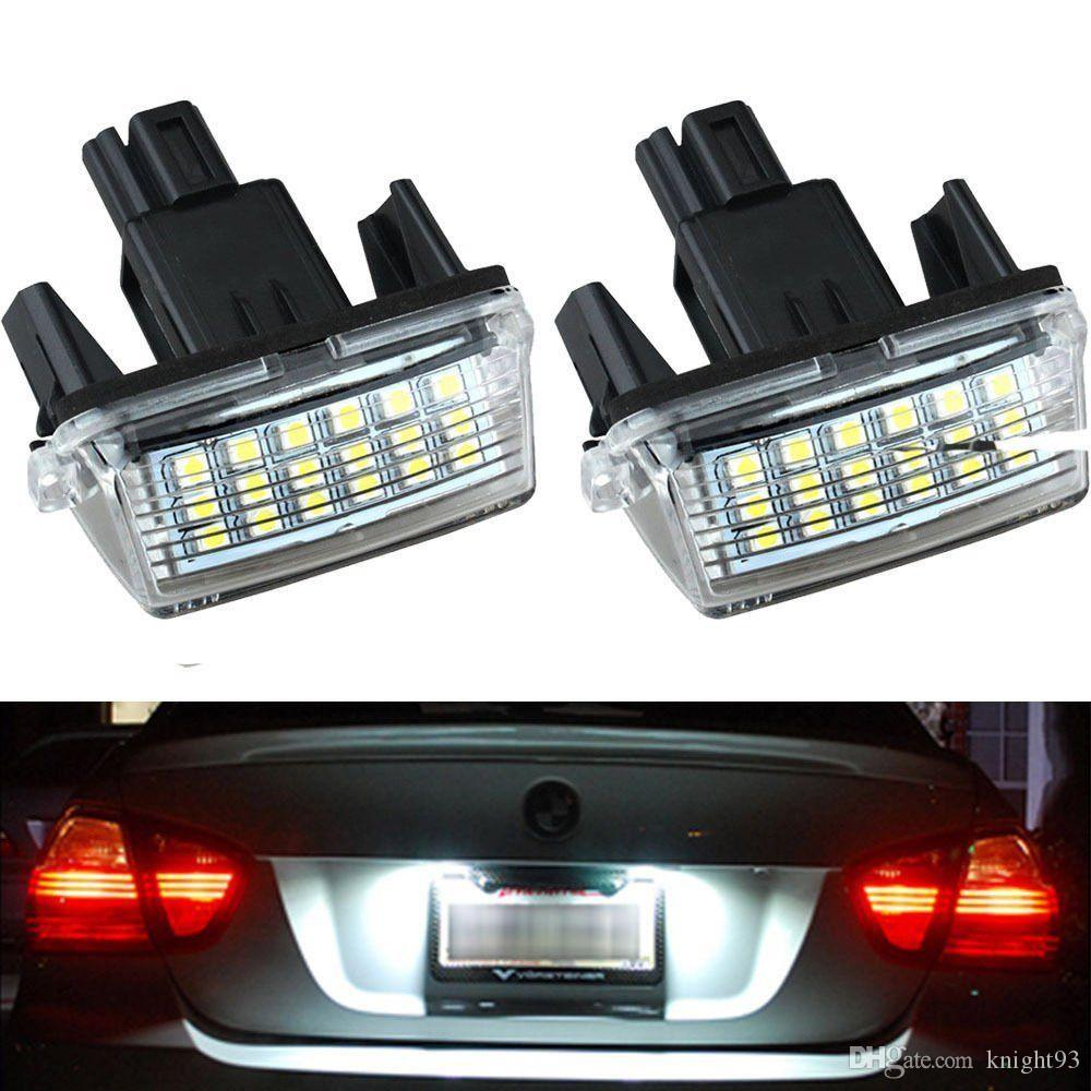 Best Quality Led License Plate Light Lamps For Toyota Camry Prius ...