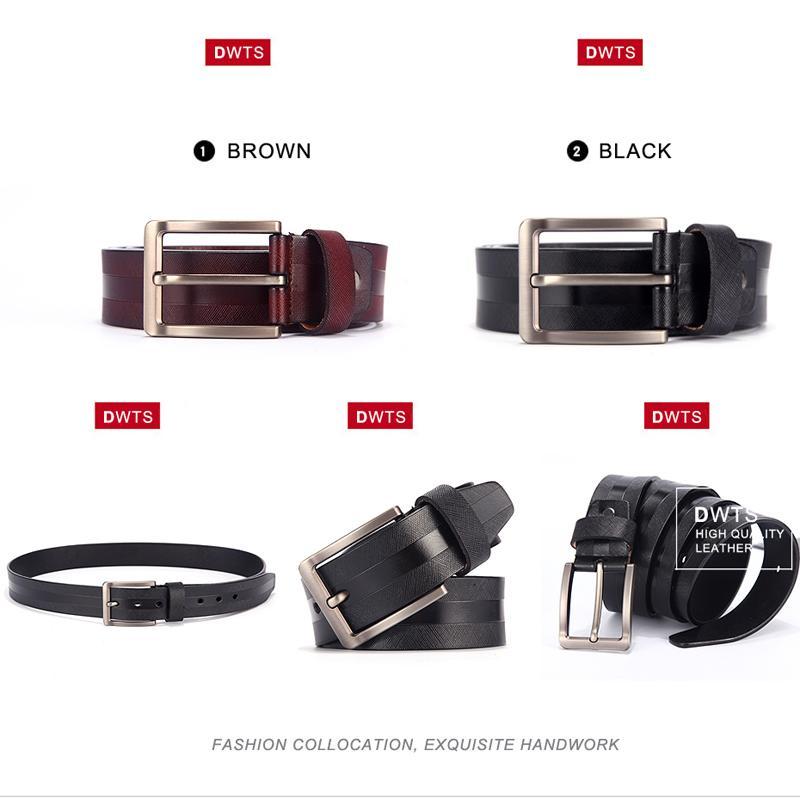 [DWTS] 2017 Cinturones Para Hombre Cinturón de Cuero para Hombres de Alta Calidad Ceinture Homme Cinto Masculino Cinturones Hombre riemen heren