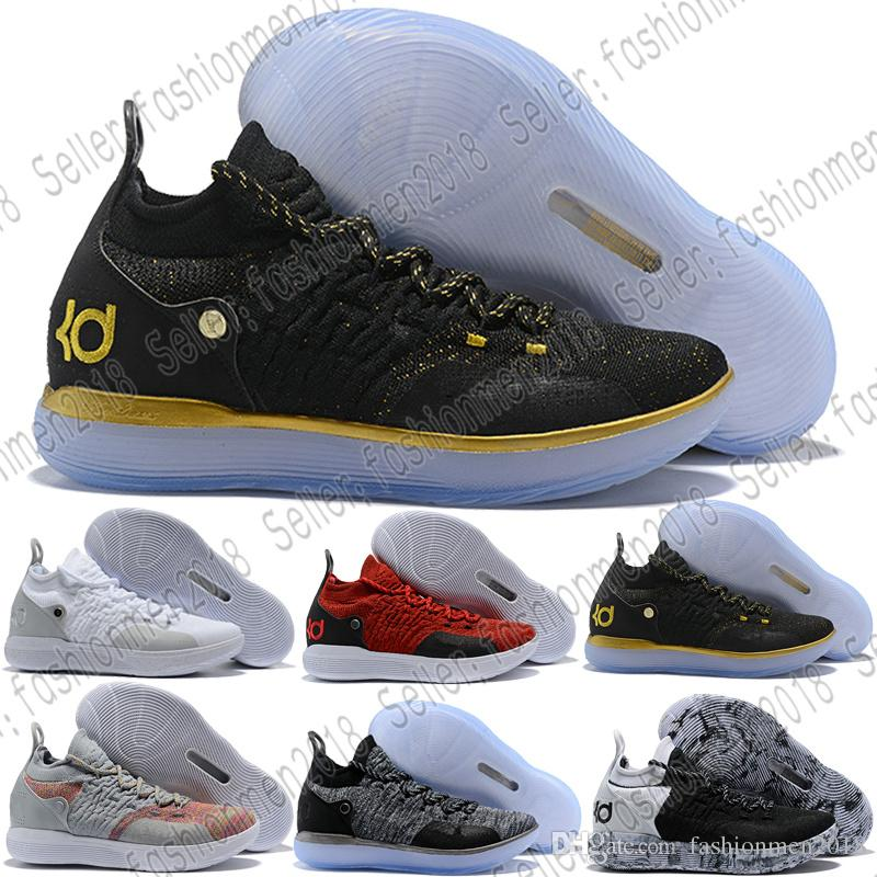 6c4c35d31521 ... discount code for 2018 with box new kd 11 bhm paranoid home blue yellow  kevin durant