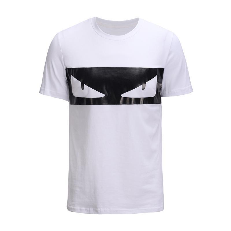 Compre Camisetas Para Hombre Para La Camiseta De Verano Camiseta De Manga  Corta Con Cuello En O Moda Ojos Impresión De Sportwear Camisetas Para Hombre  Ropa ... 3adb45c832c