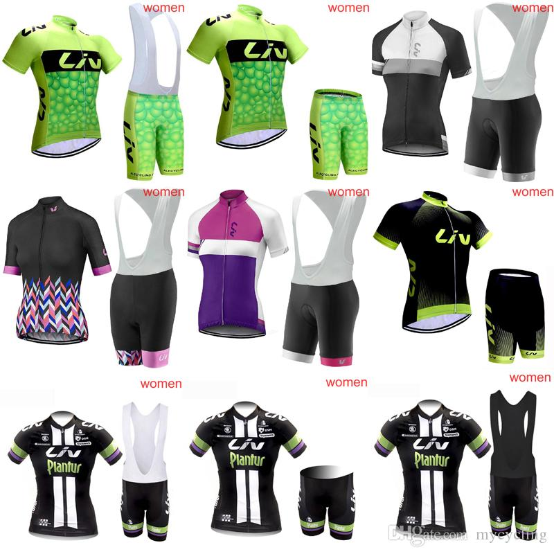 Women LIV Team Cycling Short Sleeves Jersey Set 2018 High Quality Bike  Clothes Bicycle Clothing Quick Dry MTB Maillot Ropa Ciclismo C3009 Cycle  Jacket Bib ... 10b7891fa