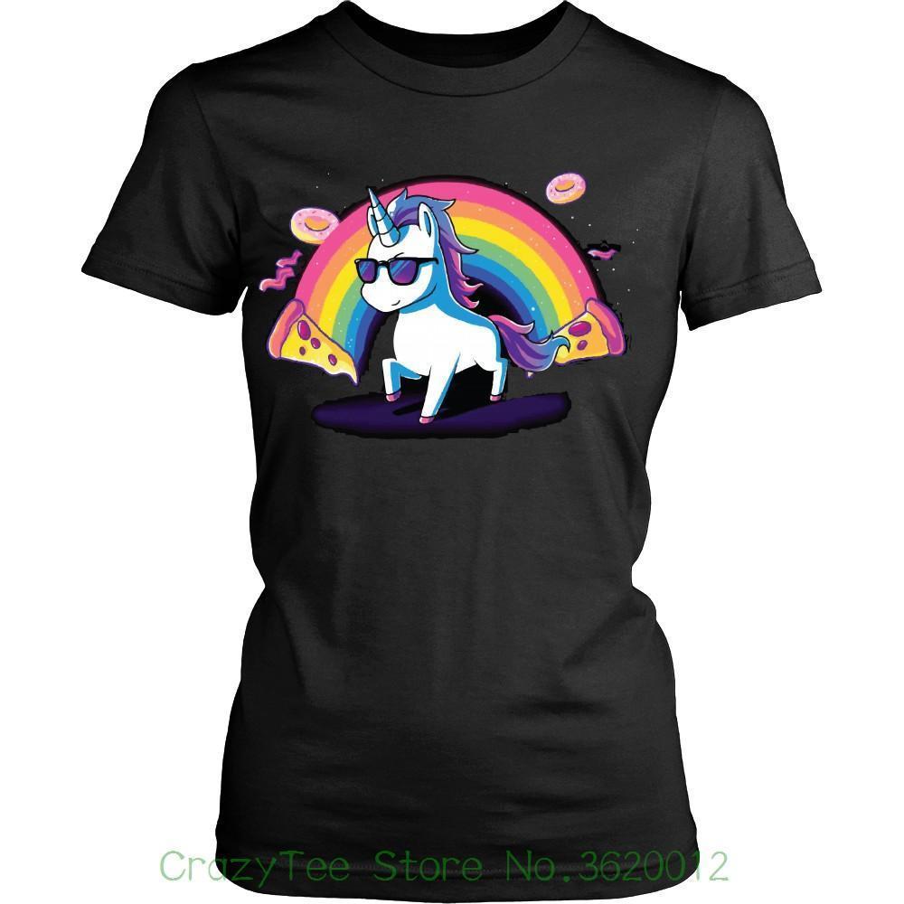 e1c9501b2ad Women S Tee Unicorn Donuts Women Shirt Funny Unicorn T Shirt Gift Idea Rainbow  Unicorn Shirt Cotton Casual T Shirt Mens Tee Shirts Rude T Shirts From ...