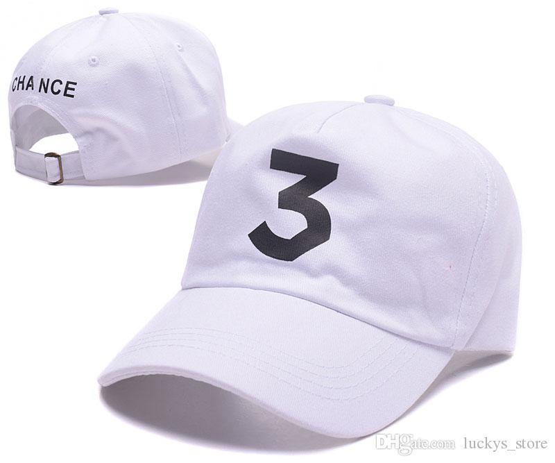 High quality Chance 3 the rapper caps strapback letter Embroidery baseball cap hip hop streetwear snapback gorras sun hats for women men