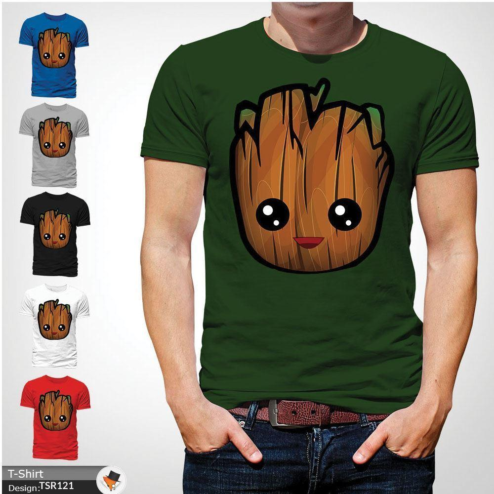 c57750723 Baby Groot T Shirt Guardians Galaxy Vol 2 Rocket Cute Gift Top XMAS Green  Funny Unisex Casual It T Shirt Design Clever Tee Shirts From  Clothing_dealss, ...