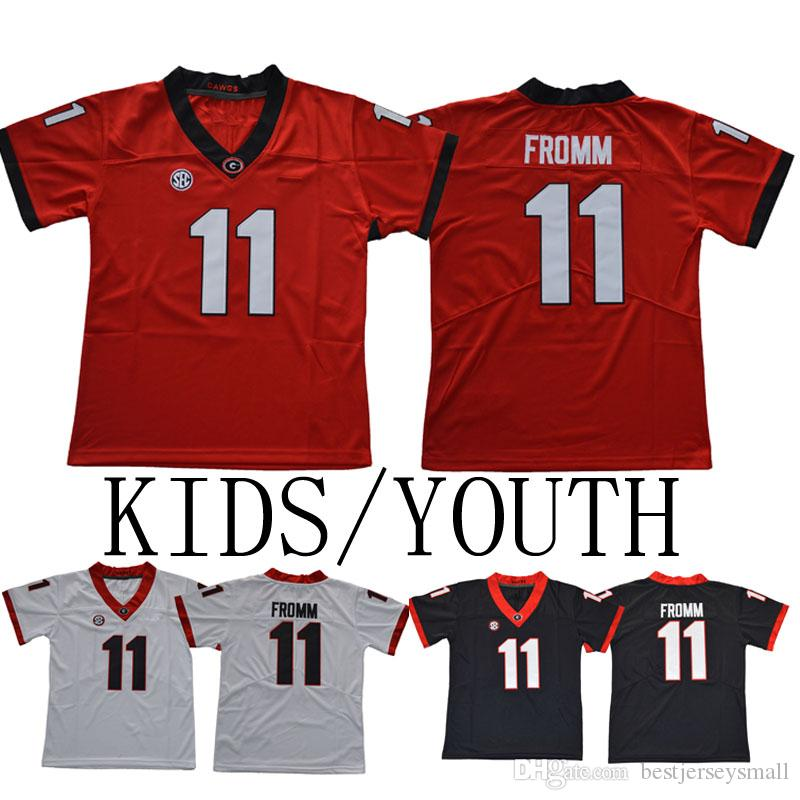 a4c0e164d 2019 Kids Youth Georgia Bulldogs College Jerseys 3 Todd Gurley II 7 D Andre  Swift 10 Jacob Eason 11 Jake Fromm 27 Nick Chubb 34 Herschel Walker From ...