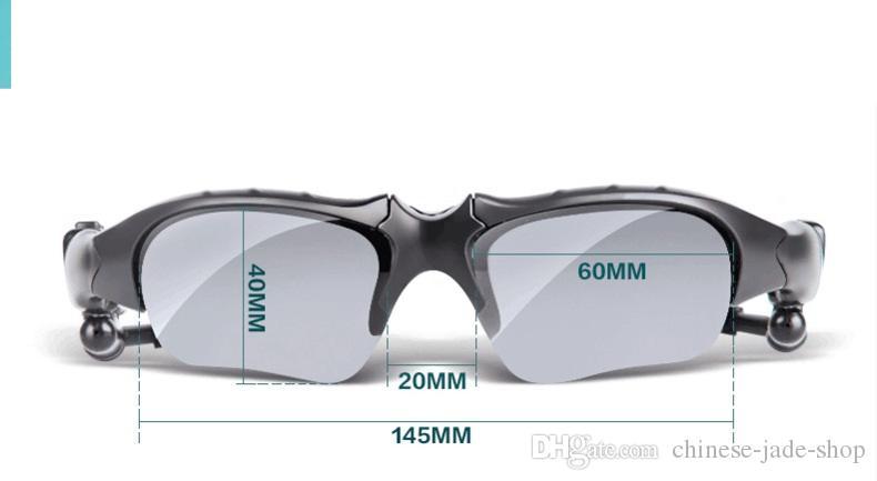 偏光ワイヤレスBluetoothの屋外サングラスサングラスステレオハンズフリーのヘッドセットイヤホンスマートフォンのイヤホンイヤホン10ピース/ロットの小売
