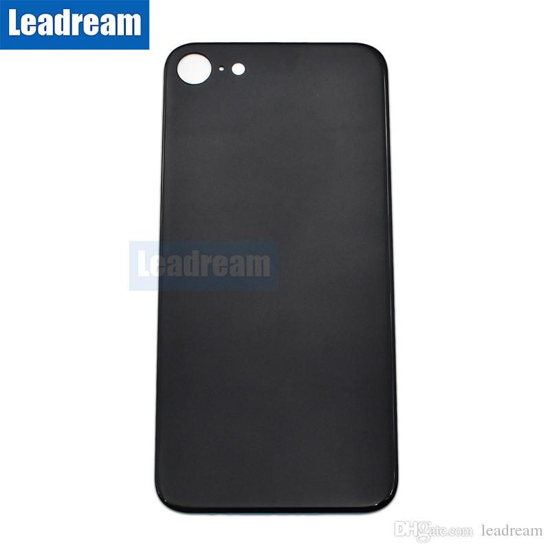 Pour iPhone 8 Plus X Verre Arrière Complet Logement Arrière Batterie Porte Couvercle De La Batterie avec Adhésif Autocollant DHL gratuit