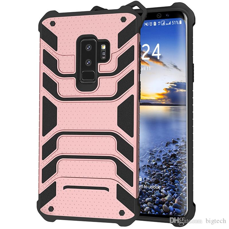 Luxury Hybrid Tempered Glass Case for Samsung J710 Shockproof Armor Back  Cover for Samsung J2 Prime for Samsung G530